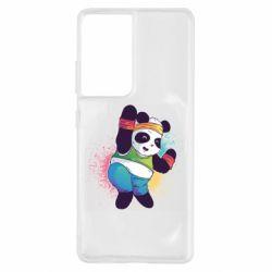 Чохол для Samsung S21 Ultra Zumba Panda