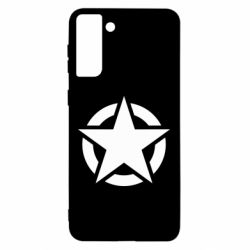 Чохол для Samsung S21 Ultra Зірка Капітана Америки