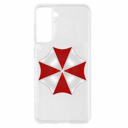 Чохол для Samsung S21 Umbrella Corp Logo