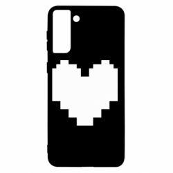 Чохол для Samsung S21+ Undertale heart