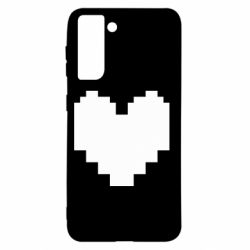Чохол для Samsung S21 Undertale heart