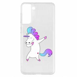Чехол для Samsung S21+ Unicorn swag