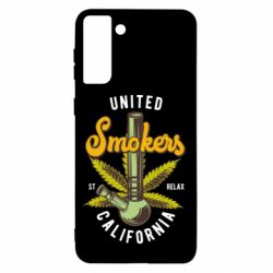 Чохол для Samsung S21+ United smokers st relax California