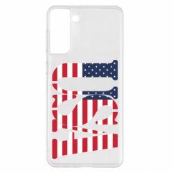 Чохол для Samsung S21+ USA
