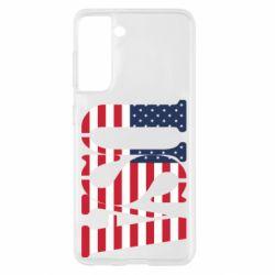 Чохол для Samsung S21 USA