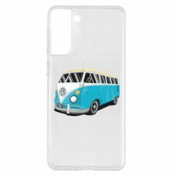 Чехол для Samsung S21+ Vector Volkswagen Bus