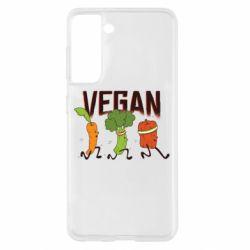 Чохол для Samsung S21 Веган овочі