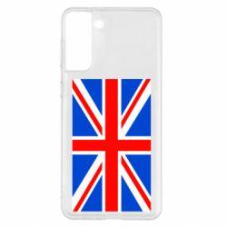 Чехол для Samsung S21+ Великобритания