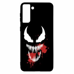 Чохол для Samsung S21+ Venom blood