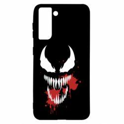 Чохол для Samsung S21 Venom blood