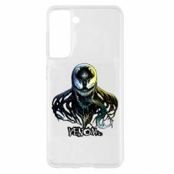 Чехол для Samsung S21 Venom Bust Art