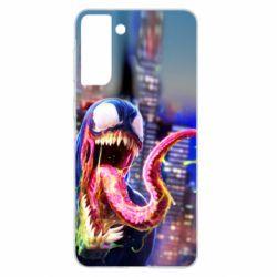 Чехол для Samsung S21+ Venom slime