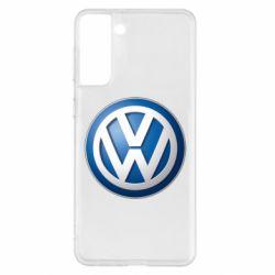 Чохол для Samsung S21+ Volkswagen 3D Logo
