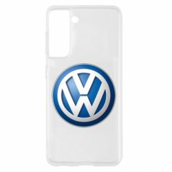 Чохол для Samsung S21 Volkswagen 3D Logo