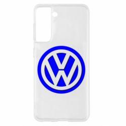 Чохол для Samsung S21 Логотип Volkswagen