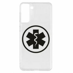 Чохол для Samsung S21+ Warface: medic