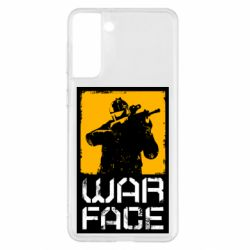 Чохол для Samsung S21+ Warface