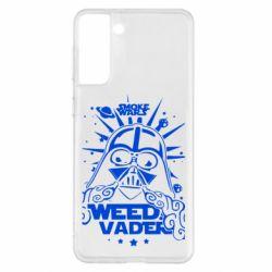 Чехол для Samsung S21+ Weed Vader