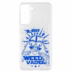 Чехол для Samsung S21 Weed Vader