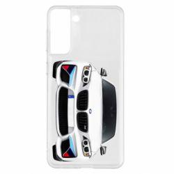 Чохол для Samsung S21+ White bmw