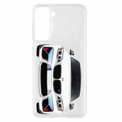 Чохол для Samsung S21 White bmw