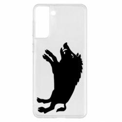 Чохол для Samsung S21+ Wild boar