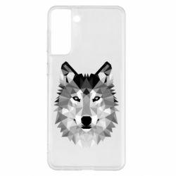 Чохол для Samsung S21+ Wolf Art