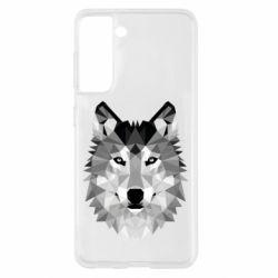Чохол для Samsung S21 Wolf Art