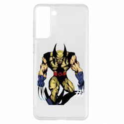 Чохол для Samsung S21+ Wolverine comics