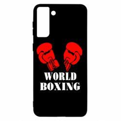 Чохол для Samsung S21+ World Boxing