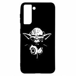 Чохол для Samsung S21 Yoda в навушниках