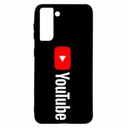 Чехол для Samsung S21 Youtube logotype