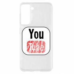Чохол для Samsung S21 YouTube