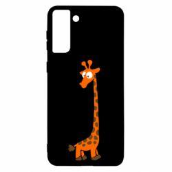 Чохол для Samsung S21+ Жираф