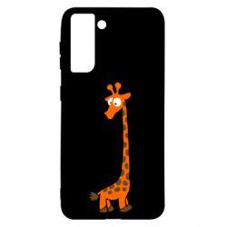 Чохол для Samsung S21 Жираф