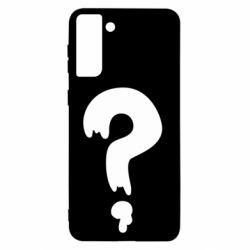 Чехол для Samsung S21+ Знак Вопроса