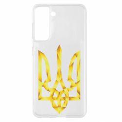 Чехол для Samsung S21 Золотий герб