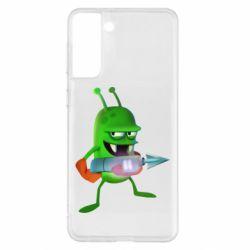 Чехол для Samsung S21+ Zombie catchers
