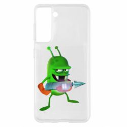 Чехол для Samsung S21 Zombie catchers
