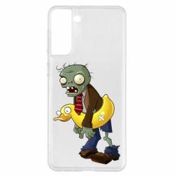 Чохол для Samsung S21+ Zombie with a duck