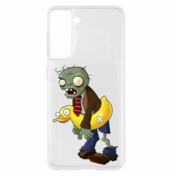 Чохол для Samsung S21 Zombie with a duck