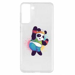Чохол для Samsung S21+ Zumba Panda