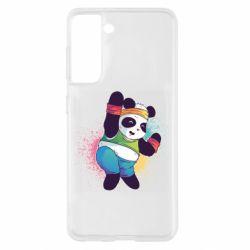 Чохол для Samsung S21 Zumba Panda