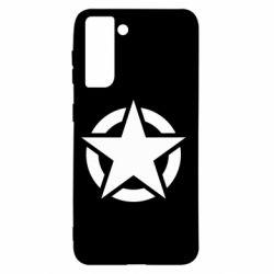 Чохол для Samsung S21 Зірка Капітана Америки