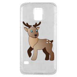 Чехол для Samsung S5 Cartoon deer