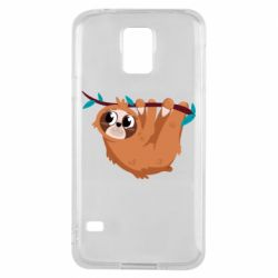Чохол для Samsung S5 Cute sloth