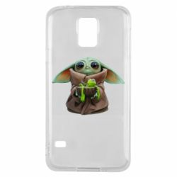 Чохол для Samsung S5 Grogu and Kermit