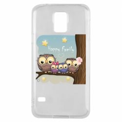 Чехол для Samsung S5 Happy family