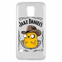 Чохол для Samsung S5 Jack Daniels Adventure Time