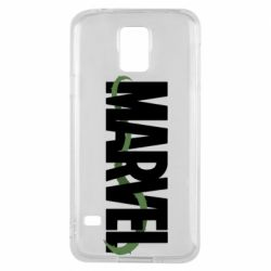 Чехол для Samsung S5 Marvel logo and vine